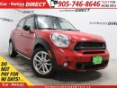 Used 2015 MINI Cooper Countryman Cooper S| LEATHER| DUAL SUNROOF| AWD| for sale in Burlington, ON