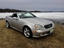 Used 2004 Mercedes-Benz SLK 320 3.2L Only 45362 km immaculate condition for sale in Perth, ON