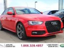 Used 2014 Audi S4 3.0 quattro Technik - Local One Owner Trade In | No Accidents | Navigation | Back Up Camera | Parking Sensors | Power Sunroof | Memory Seat | Carbon Fibre Trim | Blind Spot Monitor | Bang and Olufsen Audio | Dynamic Drive Mode | Heated Front Seats | Dual  for sale in Edmonton, AB