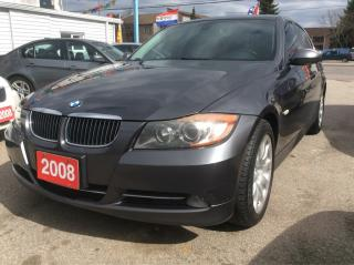 Used 2008 BMW 3 Series 335i TWIN-TURBO 330HP/LEATHER HEATED SEATS/NICE!! for sale in Scarborough, ON