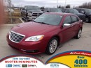 Used 2012 Chrysler 200 LIMITED | LEATHER | NAVIGATION | ROOF for sale in London, ON