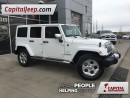 Used 2014 Jeep Wrangler Unlimited Sahara|Heated Cloth Seats| Navigation| B for sale in Edmonton, AB