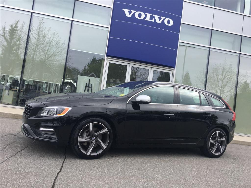 Used 2016 Volvo V60 T6 AWD Drive-E R-Design w BLIS/Climate/Tech for ...