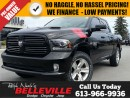 Used 2014 Dodge Ram 1500 Sport-Premium Sound Group-Heated Seats and Steerin for sale in Belleville, ON