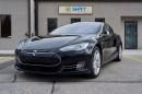 Used 2015 Tesla Model S 85D AUTOPILOT, SUBZERO PKG, AIR SUSPENSION for sale in Burlington, ON