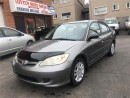 Used 2004 Honda Civic Sdn SE for sale in Hamilton, ON