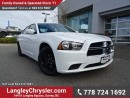 Used 2014 Dodge Charger SE ACCIDENT FREE w/ POWER WINDOWS/LOCKS, KEYLESS GO & A/C for sale in Surrey, BC