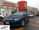 Used 2012 Honda Civic LX, low mileage, great shape, great deal for sale in Scarborough, ON