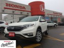 Used 2015 Honda CR-V EX-L, low low mileage, one owner, original roadspo for sale in Scarborough, ON