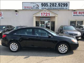 Used 2014 Chrysler 200 LX, WE APPROVE ALL CREDIT for sale in Mississauga, ON