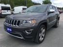 Used 2016 Jeep Grand Cherokee Limited - Sunroof - Nav - Backup Cam for sale in Norwood, ON