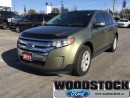 Used 2013 Ford Edge SEL Ecoboost FWD for sale in Woodstock, ON