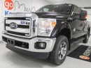 Used 2016 Ford F-350 F350- it's extra! NAV, leather, moonroof, remote start Diesel for sale in Edmonton, AB