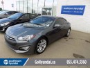 Used 2014 Hyundai Genesis Coupe LEATHER, SUNROOF, FULL 3M, RWD! for sale in Edmonton, AB