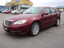 Used 2012 Chrysler 200 Touring for sale in Brantford, ON
