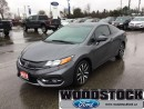 Used 2015 Honda Civic Sedan EX CVT  - Navigation -  Bluetooth -  Leather for sale in Woodstock, ON