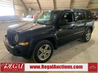 Used 2008 Jeep Patriot 4D SPORT UTILITY 4WD for sale in Calgary, AB