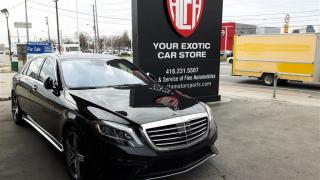 Used 2015 Mercedes-Benz S-Class S63 AMG - CARBON CERAMIC BRAKES - MAGIC SKY  ROOF for sale in Etobicoke, ON