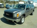 Used 2008 GMC Sierra 1500 Work Truck Crew Cab Short Box 4WD with Canopy for sale in Burnaby, BC