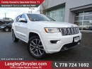 Used 2017 Jeep Grand Cherokee Overland ACCIDENT FREE w/ 4X4, LEATHER & NAVIGATION for sale in Surrey, BC