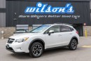 Used 2015 Subaru XV Crosstrek LIMITED AWD! LEATHER! NAVIGATION! SUNROOF! REAR CMAERA! HEATED SEATS! BLUETOOTH! for sale in Guelph, ON