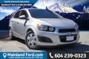 Used 2013 Chevrolet Sonic LS Auto LOCAL, NO ACCIDENTS for sale in Surrey, BC