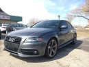 Used 2011 Audi A4 2.0T Premium 2011 AUDI A4 S LINE!! 6 SPEED!! GUN M for sale in Bolton, ON
