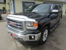 Used 2014 GMC Sierra 1500 LOADED 'Z71 - SLT' MODEL 5 PASSENGER 6.2L - V8.. 4X4.. CREW.. SHORTY.. LEATHER.. HEATED/AC SEATS.. NAVIGATION.. POWER SUNROOF.. for sale in Bradford, ON