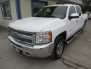 Used 2012 Chevrolet Silverado 1500 'GREAT VALUE' READY TO WORK LT EDITION 6 PASSENGER 4.8L - V8.. 4X4.. CREW.. SHORTY.. CD/AUX INPUT.. KEYLESS ENTRY.. for sale in Bradford, ON