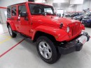Used 2015 Jeep Wrangler Unlimited Sahara Unlimited.. 6SPEED... LOW KMS... NAVIGATION for sale in Milton, ON