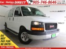 Used 2015 GMC Savana 2500 1WT| LOW KM'S| 10 TO CHOOSE FROM| for sale in Burlington, ON