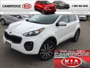 Used 2017 Kia Sportage EX AWD KIA CERTIFIED PRE-OWNED for sale in Cambridge, ON