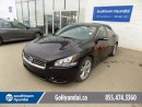 Used 2012 Nissan Maxima PANO ROOF, LEATHER, NAVI. for sale in Edmonton, AB
