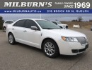 Used 2011 Lincoln MKZ Base for sale in Guelph, ON