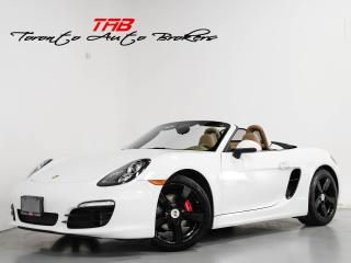 Used 2015 Porsche Boxster I CONVERTIBLE I PDK I NAVI I BOSE for sale in Vaughan, ON