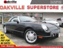Used 2002 Ford Thunderbird | REMOVABLE HARD TOP | LEATHER | CONVERTIBLE for sale in Oakville, ON