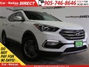 Used 2017 Hyundai Santa Fe Sport 2.4 SE| LEATHER| PANO ROOF| AWD| for sale in Burlington, ON