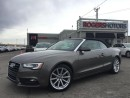 Used 2014 Audi A5 2.0T QTRO - CONV. - NAVI for sale in Oakville, ON