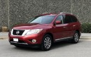 Used 2015 Nissan Pathfinder SL V6 4x4 at for sale in Surrey, BC