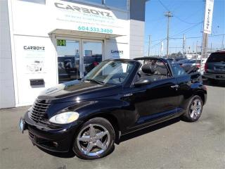 Used 2005 Chrysler PT Cruiser GT Convertible w/ Leather, Extra Clean for sale in Langley, BC