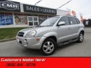 Used 2008 Hyundai Tucson LEATHER, SUNROOF, HEATED SEATS for sale in St Catharines, ON