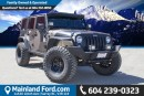Used 2014 Jeep Wrangler Unlimited Rubicon LOCAL, NO ACCIDENTS, LOW KM'S for sale in Surrey, BC