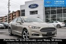 Used 2015 Ford Fusion SE - BLUETOOTH - REVERSE SENSING SYSTEM - NAV for sale in Ottawa, ON