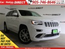 Used 2016 Jeep Grand Cherokee Summit| LOW KM'S| BLIND SPOT DETECTION| for sale in Burlington, ON