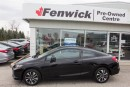 Used 2013 Honda Civic Coupe EX 5AT for sale in Sarnia, ON
