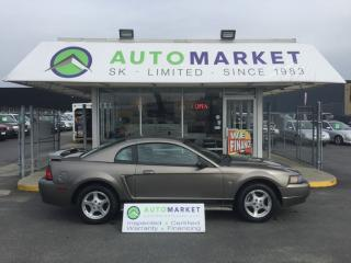 Used 2002 Ford Mustang Deluxe Coupe 5 SPD. NEW BRAKES! for sale in Langley, BC
