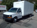 Used 2015 GMC Savana 3500 16' gas with ramp for sale in Kitchener, ON