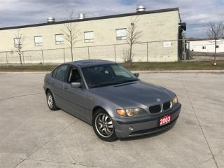 Used 2003 BMW 320i 320i, 5-speed, Leather, 3 years warranty available for sale in North York, ON