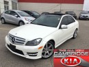 Used 2013 Mercedes-Benz C-Class C350 4MATIC NAV PANO ROOF AMG for sale in Cambridge, ON