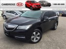 Used 2014 Acura MDX 1 OWNER NO ACCIDENTS for sale in Cambridge, ON